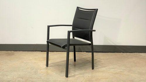 כסא אגם אפור פחם
