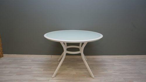 שולחן נעמה 105 לבן
