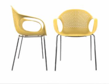 כסא קוברה רגלי ברזל