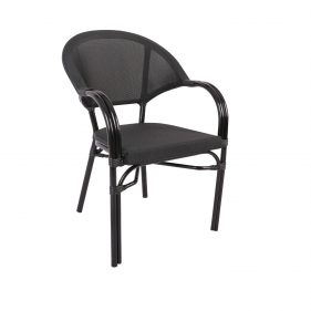 כסא פריז שחור
