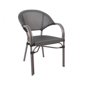 כסא פריז אפור