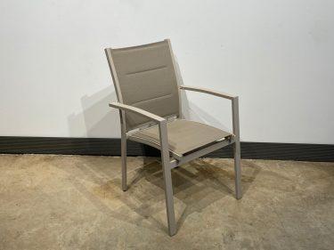 כסא אגם גב פתוח בז'