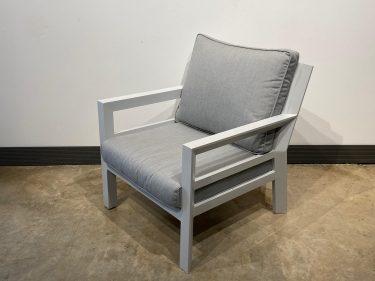 כורסא דגם פנמה צבע לבן