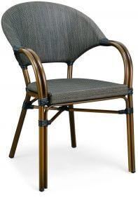 כסא פריז חום