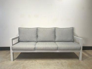 ספת תלת מושבית דגם פנמה - צבע לבן