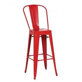 כסא בר טוליקס אדום