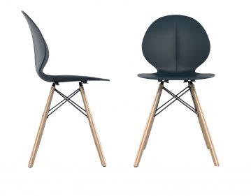 כסא פרינס רגלי עץ