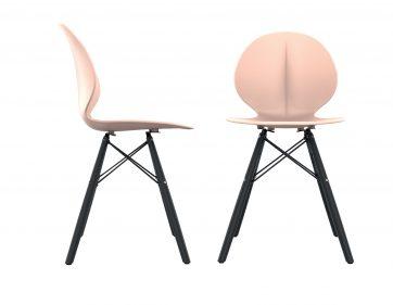 כסא פרינס רגליים שחורות