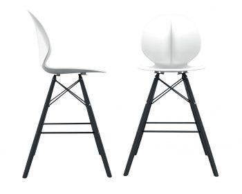 כסא בר פרינס רגליים שחורות