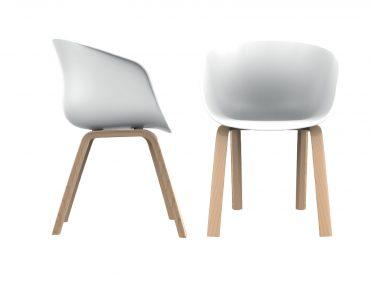 כסא דרגון רגלי עץ