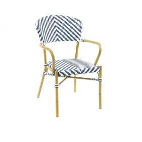 כסא זברה כחול