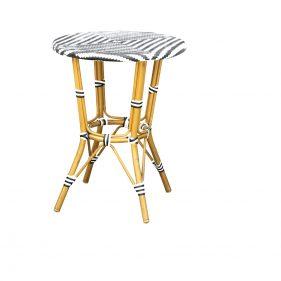 שולחן זברה אפור