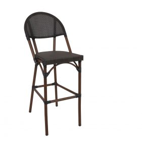 כסא בר צ'סטר צבע עץ טבעי