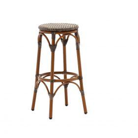 כסא בר טורונטו צבע עץ טבעי