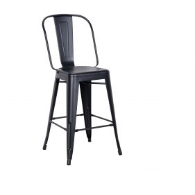 כסא בר טוליקס שחור