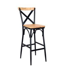 כסא בר טלה כהה