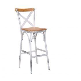 כסא בר טלה בהיר