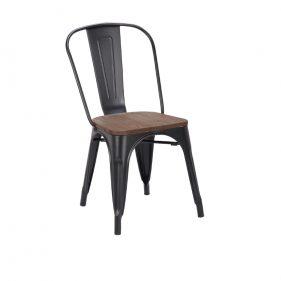 כסא טוליקס מושב עץ