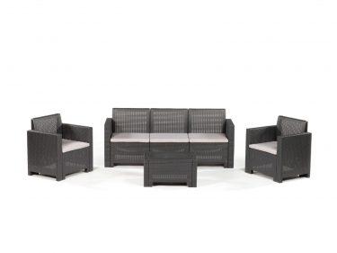 מערכת ישיבה מיקי - 5 מושבים