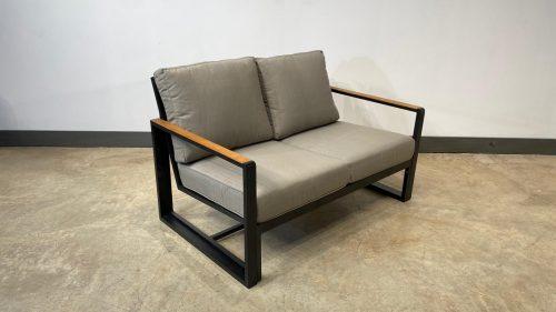 ספה דו מושבית בריז שחור