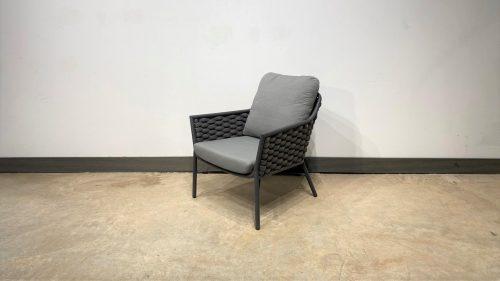 כורסא דגם ריו אפור פחם