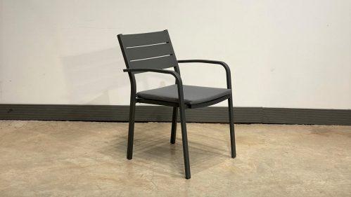 כסא דיוויד אפור פחם
