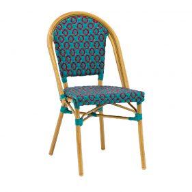 כסא קוואי כחול בהיר