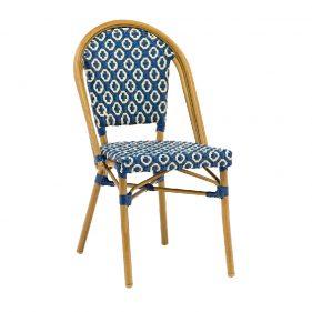 כסא קוואי כחול כהה