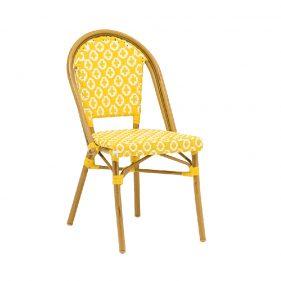 כסא קוואי צהוב