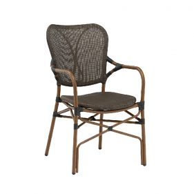 כסא רובר חום